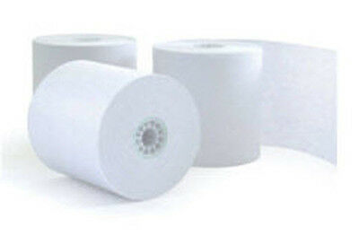 50 rolls of Single PLY 3 in 76mm recipt printer paper