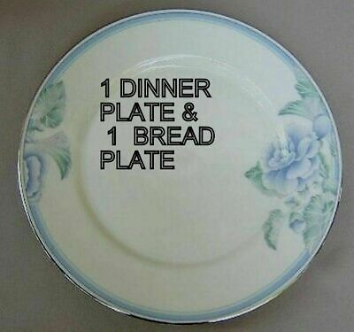 Lenox Brentwood 2-PIECE SET  - 1 Dinner +  1 Bread & Butter plate  NEW -2 PIECES