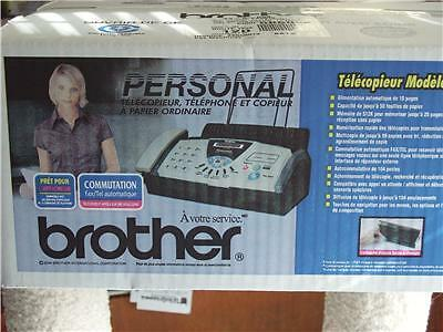 Brother Personal 575 Plain-Paper Fax Phone & Copier