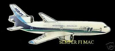 Md-11 Mcdonnell Douglas Commercial Airline Pin Wow!