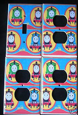 THOMAS the TRAIN LIGHT SWITCH & OUTLET COVERS FREE SHIP