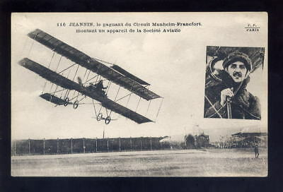 France Aviation JEANNIN aircraft in flight PPC