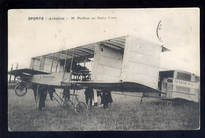France Aviation M.PAULHAM Voison biplane PPC
