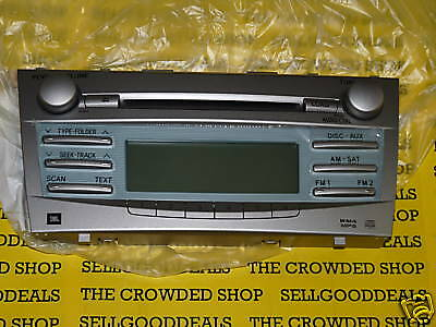 Toyota Camry CD/MP3 Player Faceplate A51823 JBL New