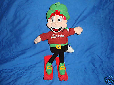 General Mills Lucky Charms Olympic Roots Canada Plush