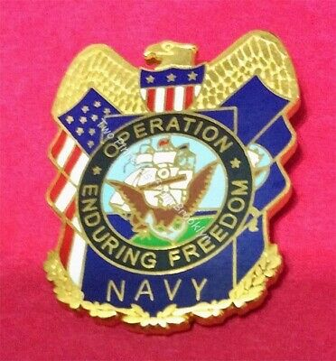 Operation Enduring Freedom Navy Pin