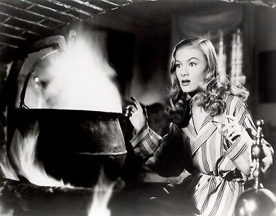 VERONICA LAKE 8x10 PICTURE I MARRIED A WITCH RARE PHOTO