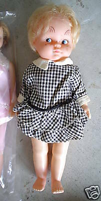 """Vintage 1970s Blonde Character Girl Doll 10"""" LOOK"""