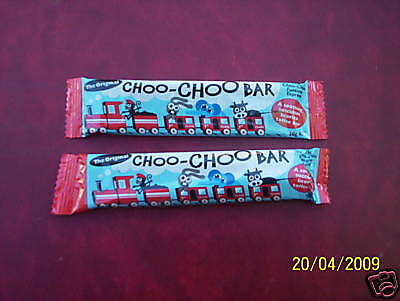 The Original Choo Choo Bar 2 bar SAMPLER!!!! 40 gms net