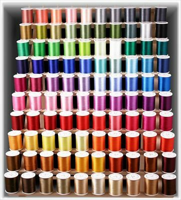 New 100 Poly Machine Embroidery Thread Kit For Brother