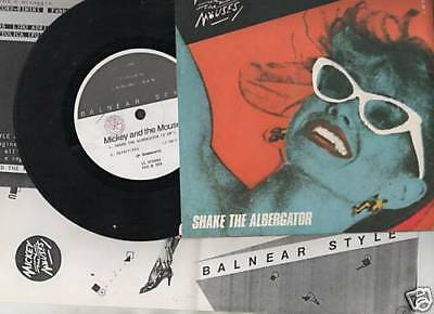 """Mickey And The Mouses - Shake The Albergator 45 7"""" 1982"""