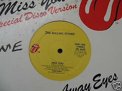 THE ROLLING STONES - Miss You -DISCO ROCK-Glimmer Twins