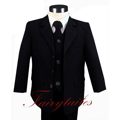 NWT Boy Suit Tuxedo W/Choice Of Many Sizes/Colors