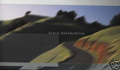 2003 Acura Sales Brochure Book Nsx Cl Rl Tsx Rsx