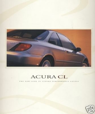 1997 Acura Cl Original Dealer Sales Brochure Book