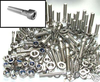 Stainless Allen Bolts Honda XR XLR XL CM CMX CR CRF - Nut and Bolt Kit x200