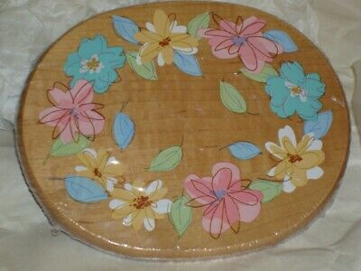 Longaberger 2008 Mothers Day Floral Blooms Decal Lid - NEW