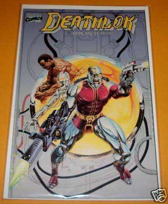 DEATHLOK Book # 1 Marvel Comic Graphic   July 1990   VFN/NM
