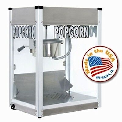 Popcorn Machine Popper Paragon 6 oz Pro Series PS-6