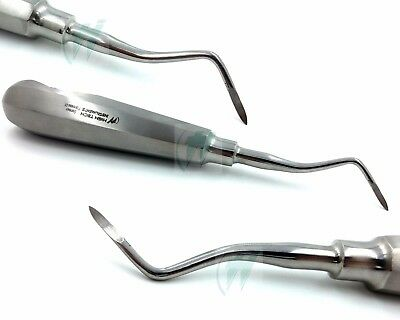 French Steel Dental Heidbrink Root Tip Pick Elevators Left H3 Instruments