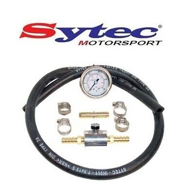 Genuine Sytec Fuel Pressure Gauge Test Kit 0-7 Bar 0-100 Psi / 0-7 Bar - Fpgk200