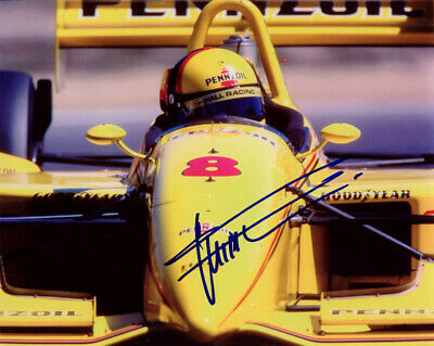Gil de Ferran Indy Car Series SIGNED 8x10 Photo COA!