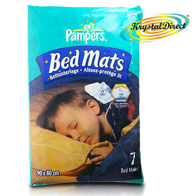 Pampers Bedmats Bed Mats Mattress Protection Wetting