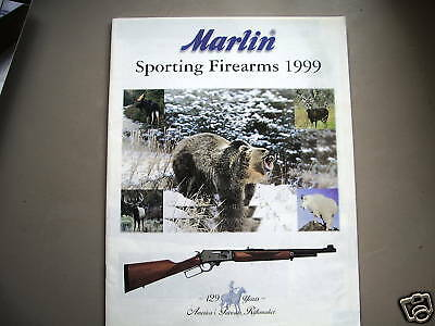 Marling Sporting Firearms Catalog 1999