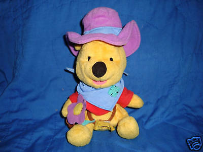 Winnie the Pooh dress as Cowboy Fisher Price Star Bean