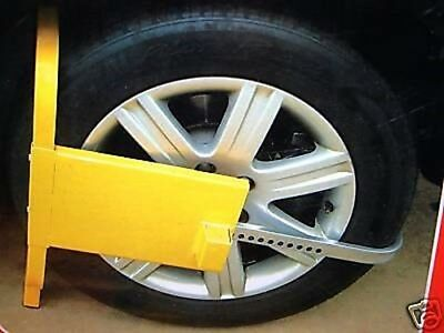 Heavy Duty Wheel Clamp For Cars, Caravans & Trailers