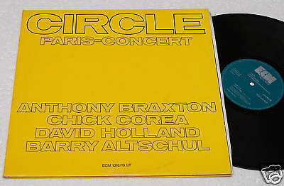 BRAXTON/COREA..2LPs-CIRCLE PARIS CONCERT-ORIGINAL NM !!