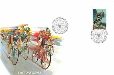 Cycling Bicycles Race Finland FDC 1998