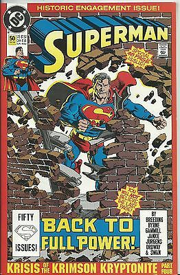 SUPERMAN #50 DS (DC) 2ND SERIES-1987 (2nd Print)