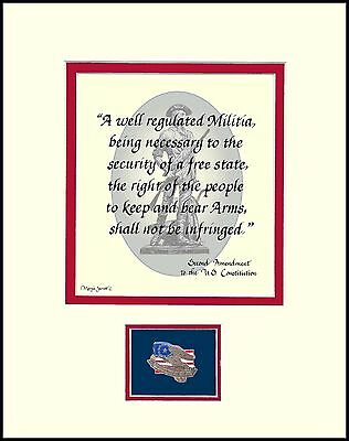 ST059- 2nd AMENDMENT, RIGHT TO KEEP AND BEAR ARMS