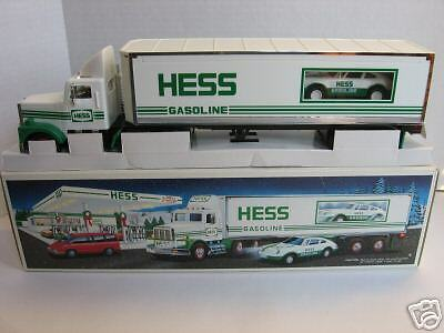 1992 Hess 18 Wheeler Racer MIB NEW Perfect Collectible!
