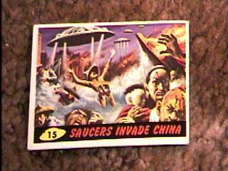 Mars Attacks #15 Trading Card 1962 Topps