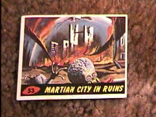 Mars Attacks #53 Trading Card 1962 Topps