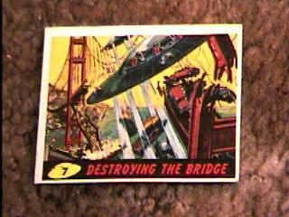 Mars Attacks #7 Trading Card 1962 Topps
