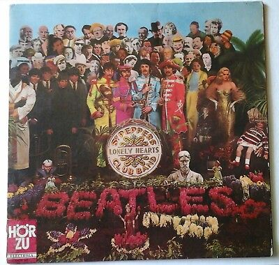 BEATLES - SGT. PEPPER'S LONELY HEARTS CLUB BAND odeon horzu SHZE 401 LP 1967 GER
