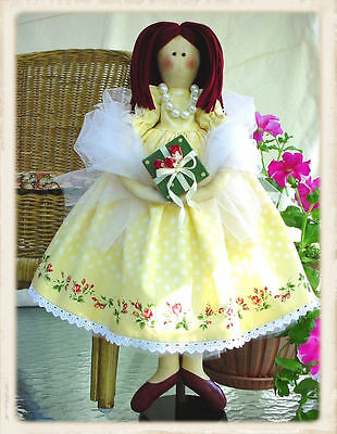 AUDREY HAS A BIRTHDAY! :: Doll Pattern :: SWEET!