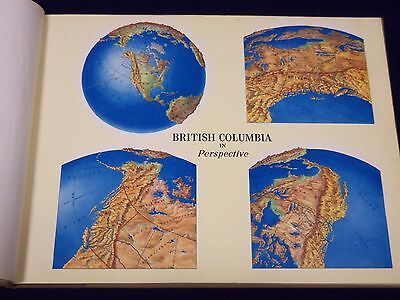 1956 British Columbia Natural Resources Conference Atlas 1St Edn Maps - Kd 507