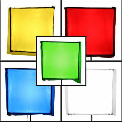 PBL Lighting Gels Filters Diffusion 32in x 40in  Set of 5 New