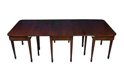 Antique George III Period Mahogany Dining Table