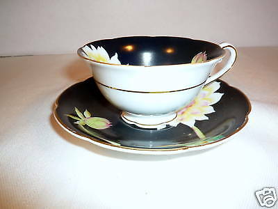 SAJI CHINA TEACUP & SAUCER-MADE JAPAN-HANDPAINTED