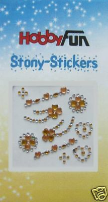 Stony-Stickers *Ornamente bernstein-orange* 3451743 NEU