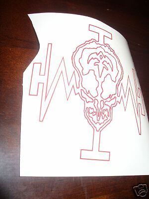 5 Inch Queensryche Mindccrime Decal In White