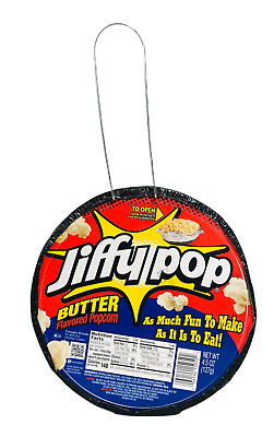 Jiffy Pop Buttered Flavored Popcorn 1 Pan 4.5 oz