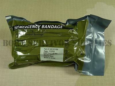 "NATO British Army Issue Bandage Trauma Wound Field Dressing 4"" Inch Israeli FFD"
