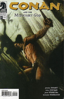 Conan And The Midnight God #2 (NM)`07 Dysart/ Conrad