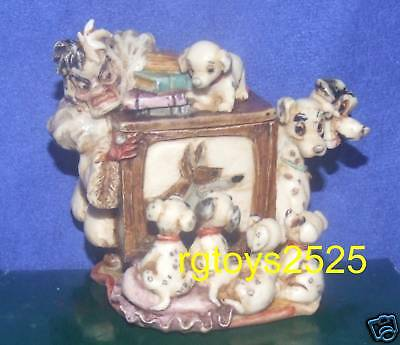 Walt Disney Gallery Limited Editions Harmony Kingdom 101 Dalmatians Box New 2002